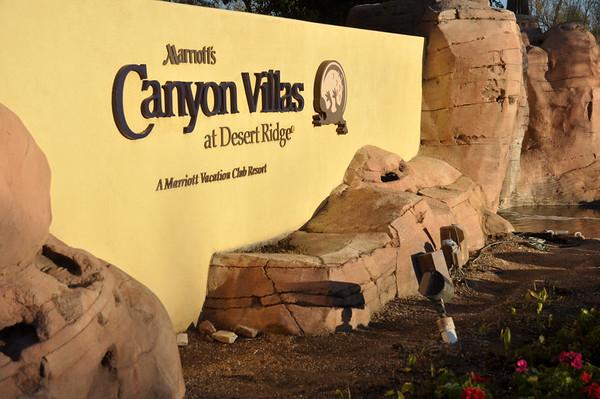 Marriott's Canyon Villa's Feb. 2013