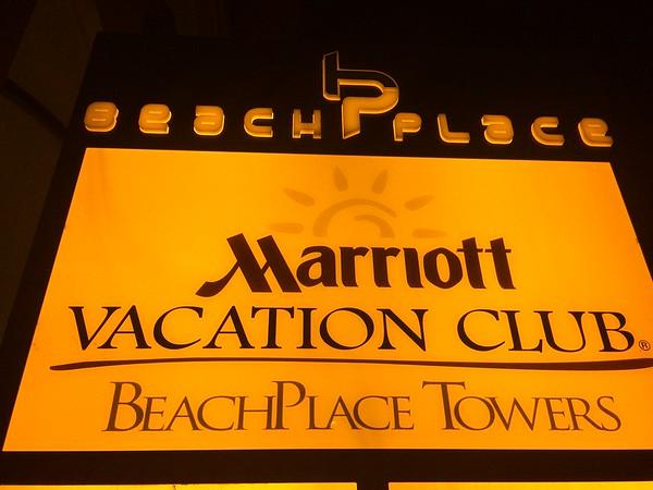 Marriott's Beachplace Towers, Dec 2014
