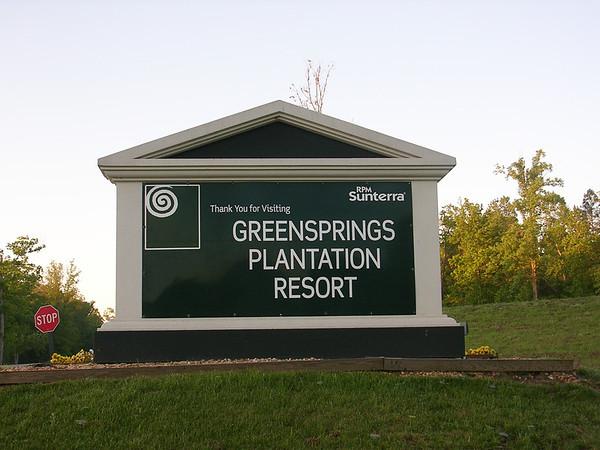 Sunterra Greensprings Plantation May 2005